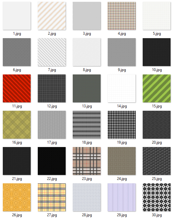 30-pixel-patterns