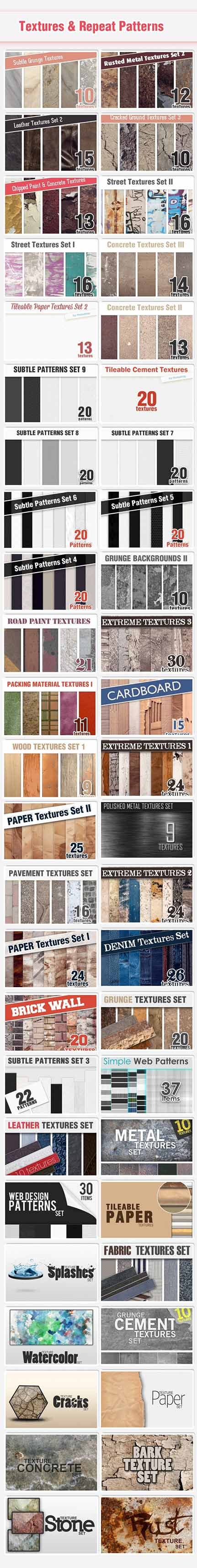 textures new Graphic Library from DesignTNT
