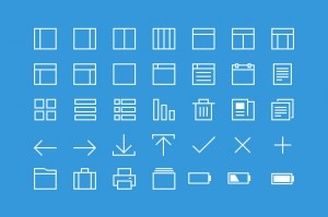 line icons 300x199 Sunday Freebie: 35 Thin Line Icons