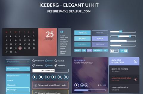 Iceberg-Freebie