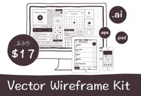 Vector Wireframe Kit - Thumb