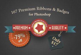 premium badges ribbons