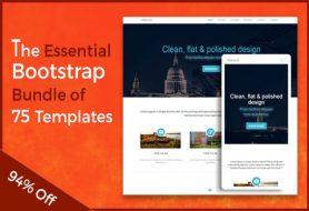 75-Bootstrap-Templates-Bundle
