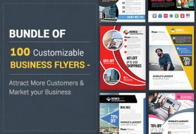 Business PSD -flyer-templates