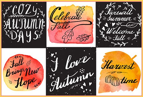 hand lettering designs