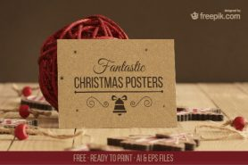 Free Christmas Poster Templates
